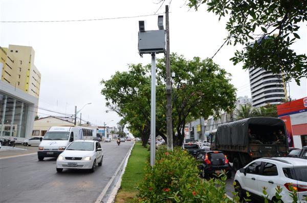 STTU está com 26 pontos de fiscalização eletrônica em Natal. (Foto: Arquivo TN)