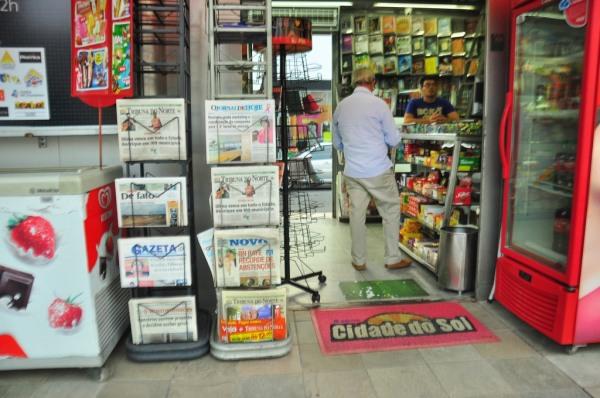 Bancas serão ponto de informações turísticas (Foto: Wellington Rocha)