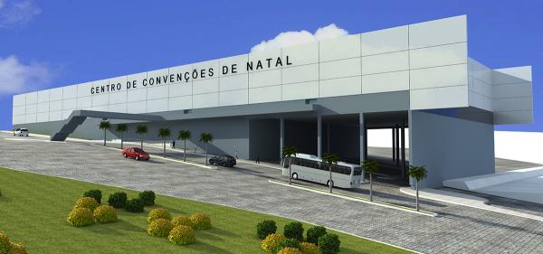 Novo Centro de Convenções terá capacidade para comportar sete mil pessoas (Foto: Divulgação)