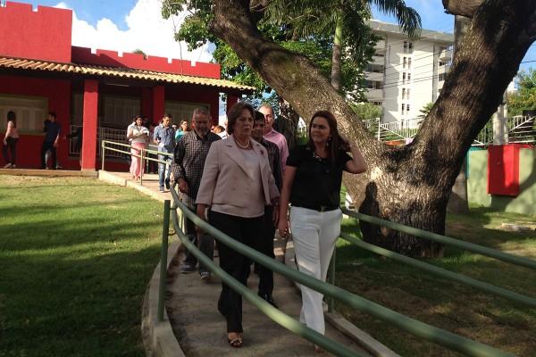 Governadora fez última visita de inspeção (foto: Saulo de Castro)