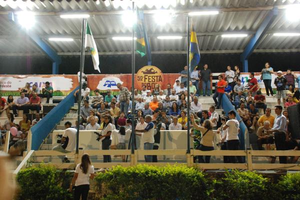 O evento foi aberto oficialmente no sábado (11). (Foto: Marco Polo / Agência Sebrae)