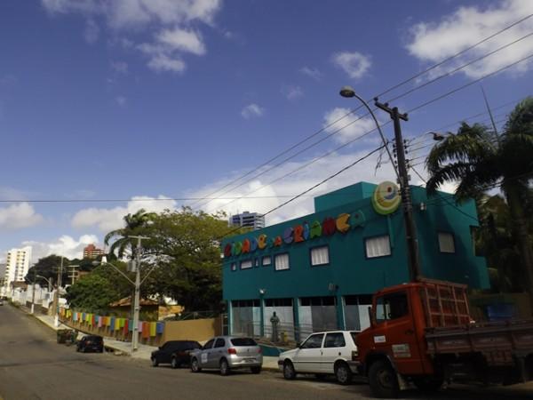 Reforma da Cidade da Criança está em fase de finalização. (Foto: blogdobg.com.br)