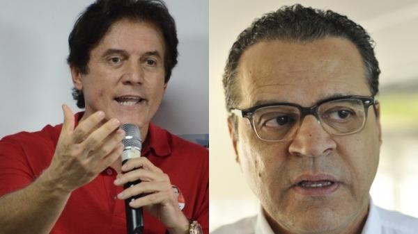Robinson Faria (esq.) e Henrique Alves disputam a candidatura ao governo do Estado. (Foto: www.novojornal.jor.br)