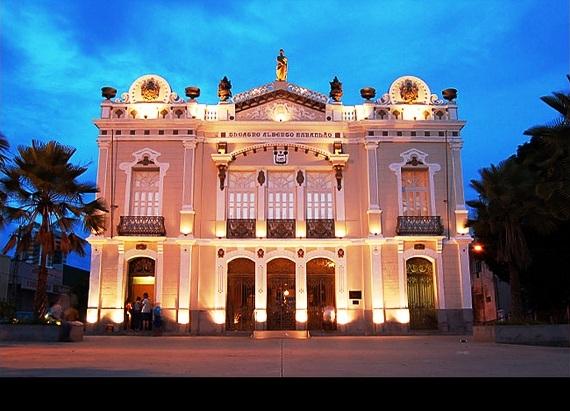 Teatro Alberto Maranhão. (Foto: respirearte.wordpress.com)
