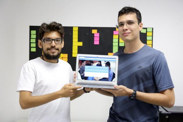 4Soft, Empresa Junior dos cursos de Engenharia de Software e Tecnologia da Informação, desenvolveu Banco de Vagas do Instituto Metrópole Digital. (Foto: Anastácia Vaz)