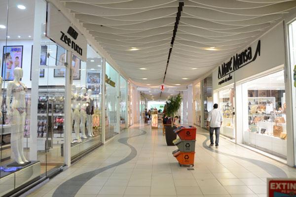 Shopping Cidade Jardim: lojas do empreendimento têm 100 vagas, das mais de 900 do setor. (Foto: Adriano Abreu)