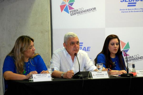 Pesquisa e atrações do evento foram apresentadas por dirigentes e equipe técnica do Sebrae (Foto: Moraes Neto/Divulgação)
