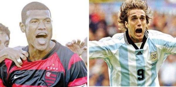 Júnior Baiano (Brasil) e Batistuta (Argentina) estão convocados.