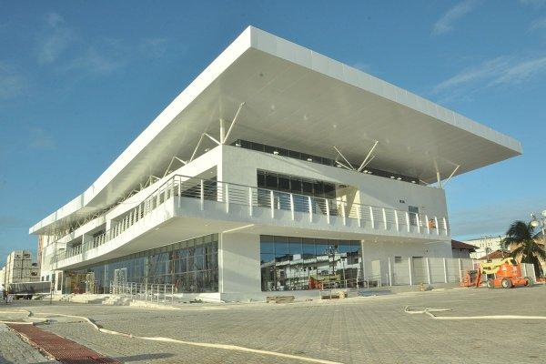 Terminal não tem data para ser inaugurado (Foto: Wellington Rocha)