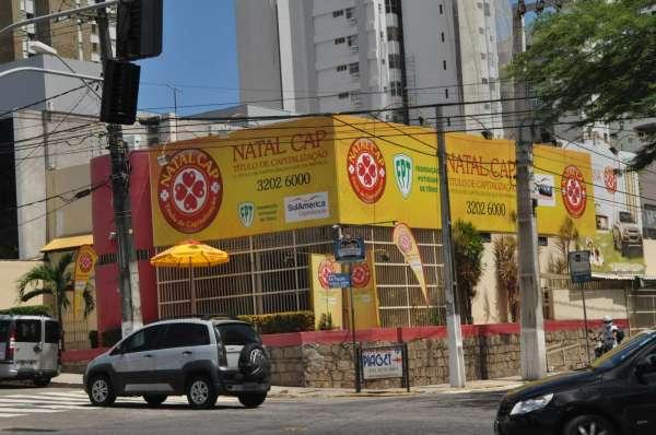 Sede da Natal Cap, em Petrópolis, cuja principal atividade é a promoção de venda. (Foto: Argemiro Lima)