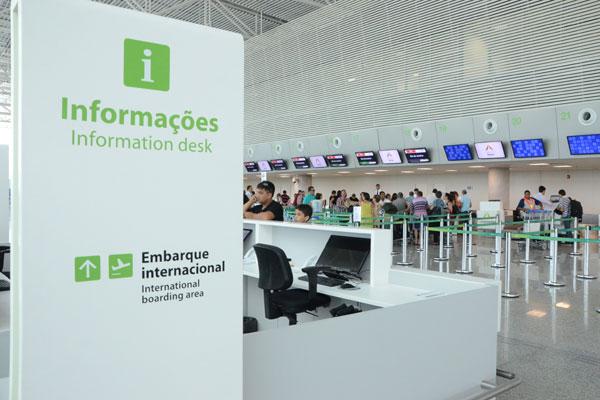 Terminal de passageiros do aeroporto: Movimento vai crescer. (Foto: Adriano Abreu)