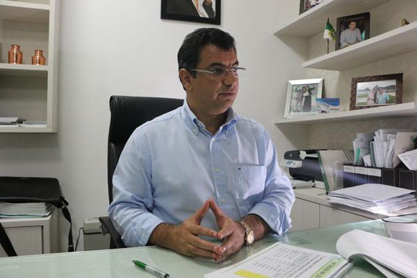 José Álvares Vieira, presidente da Faern. (Foto: Alex Régis)
