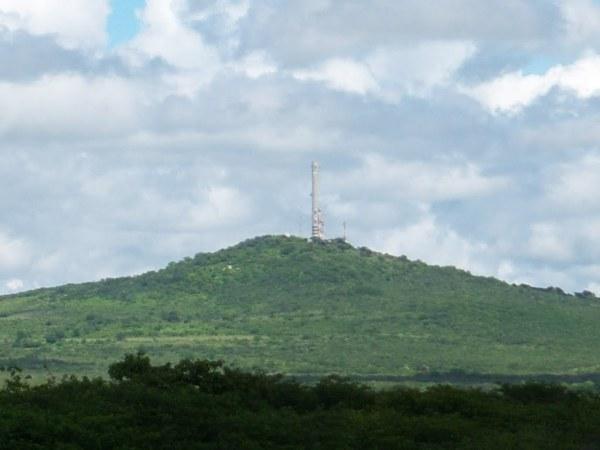 Santuário será construído no alto da Serra de Mossoró. (Foto: www.panoramio.com)