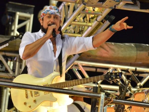Bell Marques faz sua estreia no Carnatal na carreira solo (Foto: Sandro Honorato/Ag.FPontes/divulgação)
