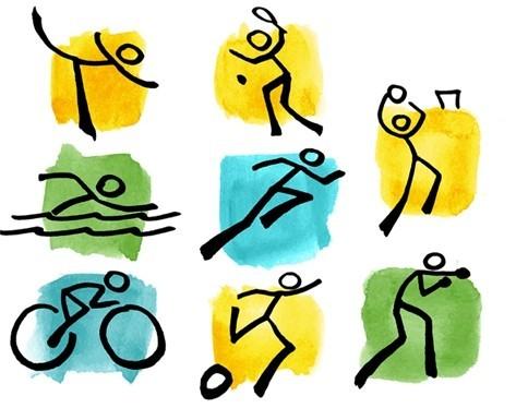 Resultado de imagem para atletas