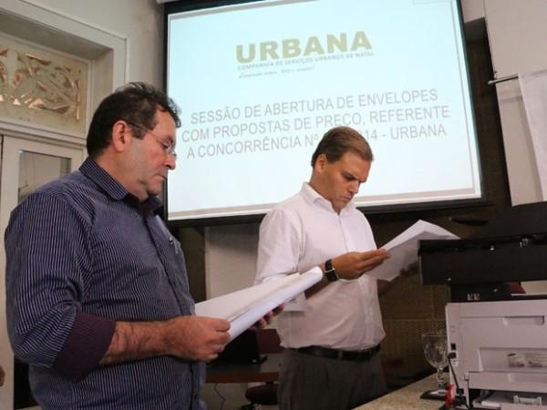 Resultado da licitação da limpeza pública foi anunciado nesta segunda pela Urbana (Foto: Divulgação/Urbana)