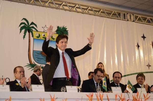 Robinson Faria assegurou a servidores públicos, empresários e Poderes constituídos parceria nesse novo governo. (Foto: Argemiro Lima)