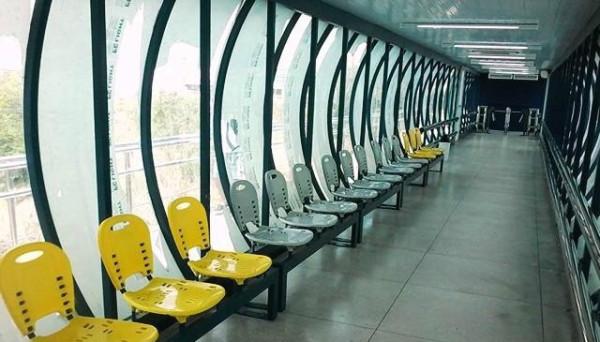Novos espaços oferecem conforto aos passageiros. (Foto: Daniel Turíbio)