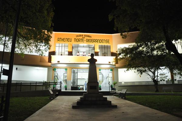 Colégio Atheneu ganhou a maior reforma de sua história. (Foto: Eduardo Maia)
