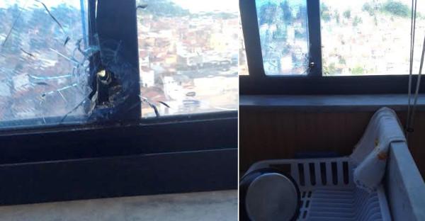 Cláudio Santos mora no apartamento do 16º andar de um dos edifícios na Avenida Sylvio Pedroza. (Foto: Cedida/Blog Eliana Lima)