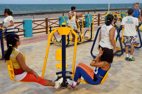 Após exposição de Natal como cidade mais sedentária do país, atividade física ganhou mais adeptos. (Foto: Ana Silva)