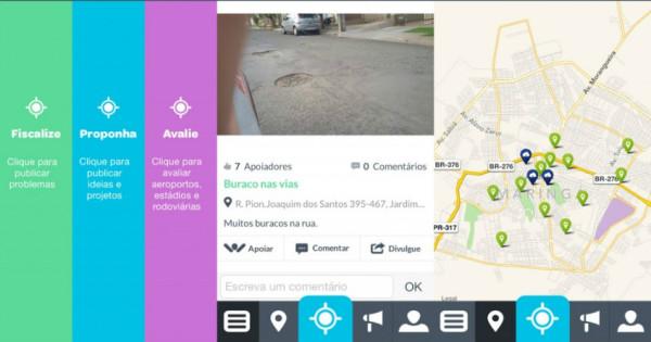 Exemplo de funcionamento do aplicativo para smartphones IOS. Ferramenta também está disponível para aparelhos com sistema Android. (Foto: www.manualdousuario.net)