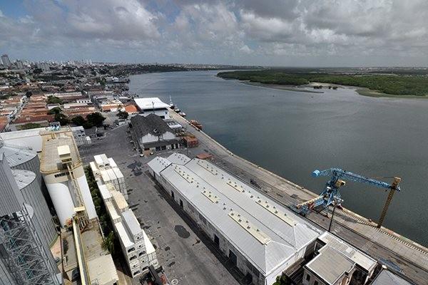Porto de Natal e Rio Potengi: Novo projeto é mais amplo do que um já apresentado pela Codern. (Foto: Magnus Nascimento)