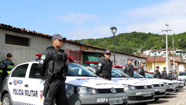 Viaturas do Ronda Cidadã. (Foto: divulgação/Governo do RN)