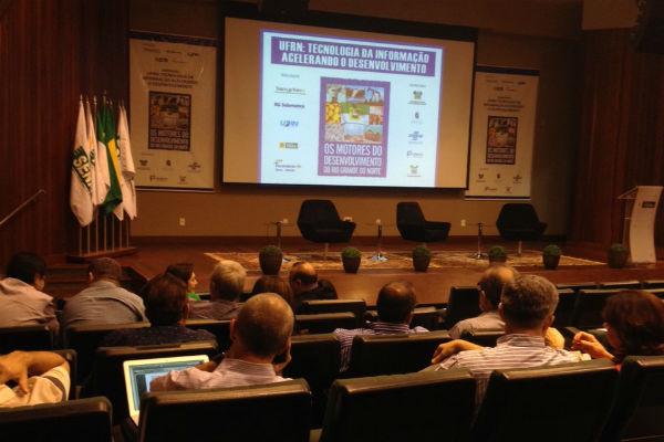 Estudos e importância da tecnologia da informação no desenvolvimento econômico do país serão tema de seminário. (Foto: Cledivânia Pereira)