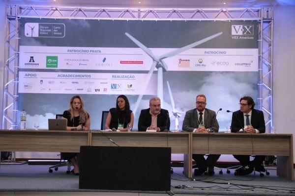 Abertura do Forum Nacional Eólico 2015. (Foto: divulgação)